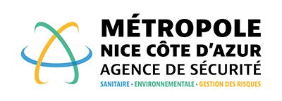 Logo de l'Agence de sécurité Nice Côte d'Azur